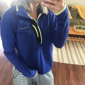 Cozy Columbia half zip